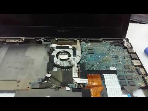 How To Repair Laptop Sony Vaio Pcg 41216w No Power In(រៀនជួសជុលកំុព្យូទ័រមិនចាំបាច់អស់លុយ)