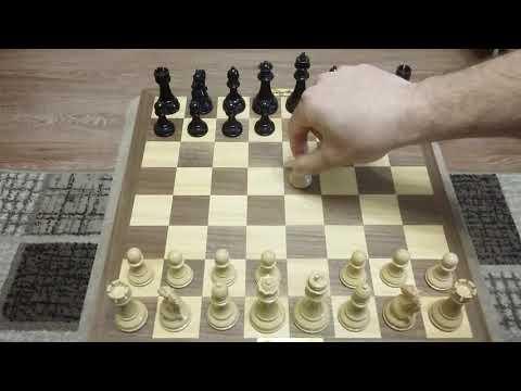 Шахматы. Дерзкий мат за 5 ходов.
