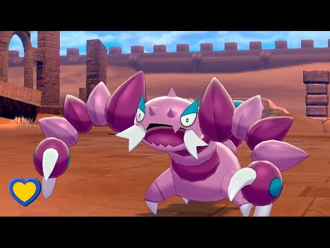 HOW TO GET Drapion In Pokemon Sword And Shield