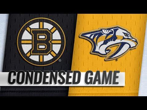 11/03/18 Condensed Game: Bruins @ Predators