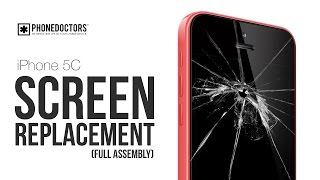 how to iphone 5c lcd digitizer screen replacement full version
