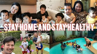 HOME IS WHERE THE HEART IS! Quarantine Diaries: Fun Day with the Fam! | Camille Prats