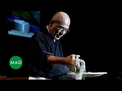 Soba Master Tatsuru Rai demonstrates his craft at MAD4