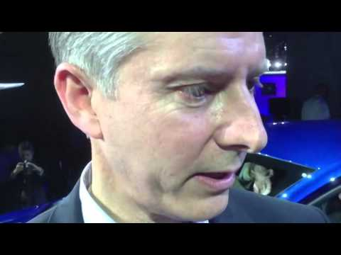 Chrysler Brand President Al Gardner At NAIAS