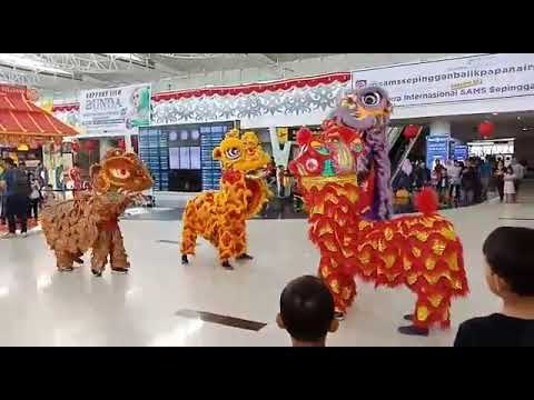 Barongsai 2018 (Bandara Internasional Sepinggan Balikpapan)