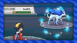 Live Shiny Suicune After 13,574 Soft Resets! (Pokémon SoulSilver)