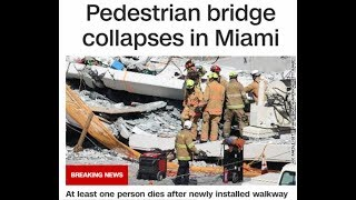 Miami Bridge Collapse-Bridge Symbolism I've been mentioning-Synchronicity with a Dream about my Dad