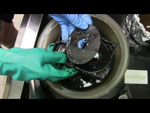 Dissolve Hard Drives with Acid