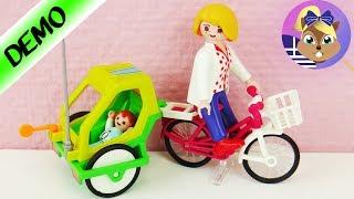 Σετ παιχνιδιού Playmobil :Ποδήλατο και παιδικό καρότσι!