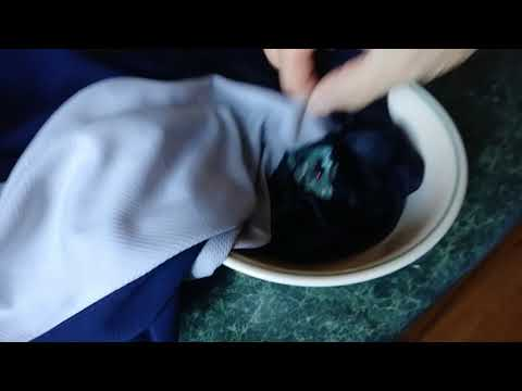 How to remove dry slime on clothes in less then 5 minutes!