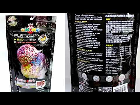 Okiko Platinum The Best Flowerhorn Food Ever! | Okiko Platinum For Fast Growth