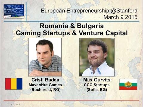 Romania & Bulgaria - MavenHut & CCC Startups - Gaming Startups & Venture Capital - Mar 9 2015