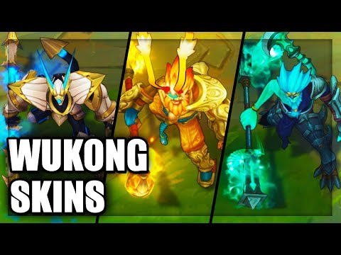 All Wukong Skins Spotlight (League of Legends)