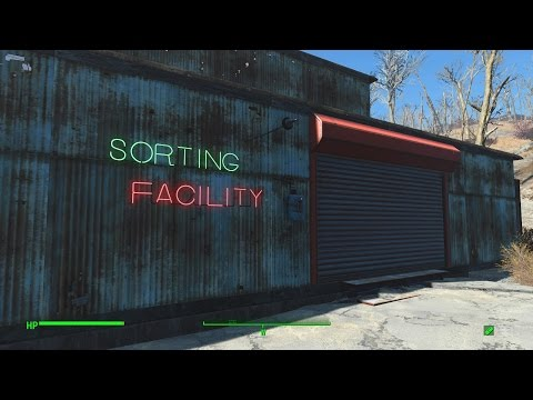Fallout 4 : EP05 - Sorting facility warehouse