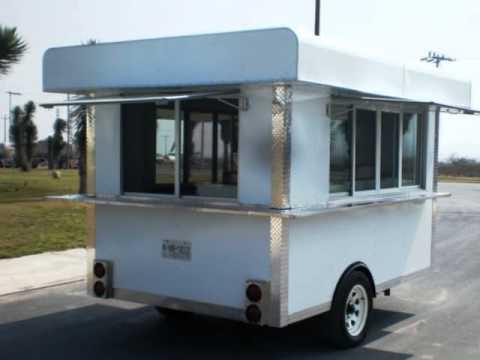 Fotos De Remolque Ttm Trailers Modelo Kitchen Van 10 X 6 X 7 Zip
