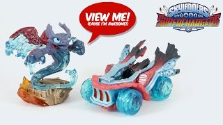 Skylanders SuperChargers All Toy Figures unboxed