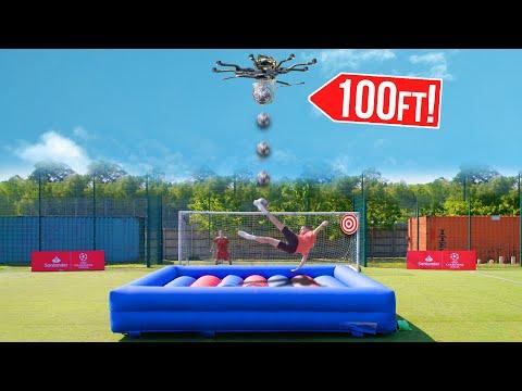 Drone Bicycle Kick Challenge! | Billy Wingrove & Jeremy Lynch Thumbnail