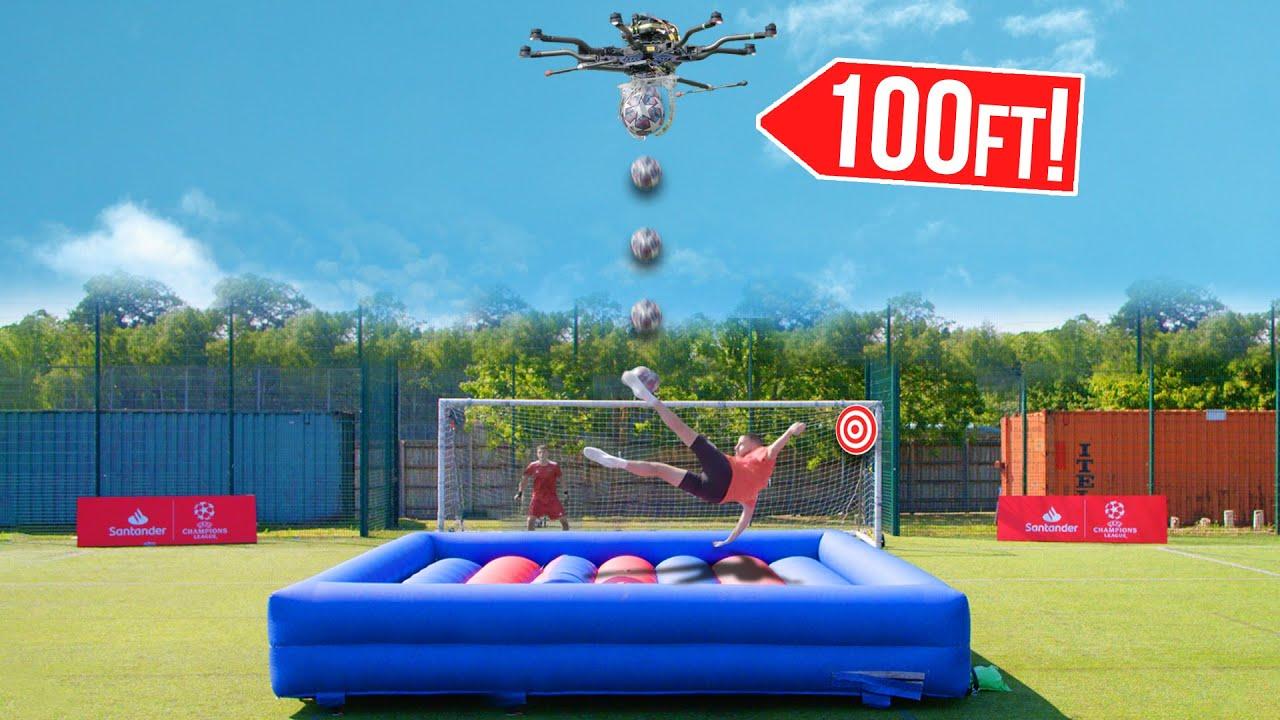Drone Bicycle Kick Challenge!
