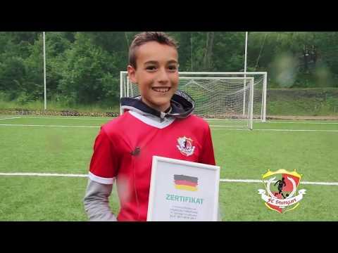 Дюссельдорф детский футбольный лагерь
