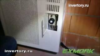 видео Газовые конвекторы отопления