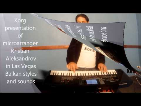 Korg presentation of microarranger Kristian Aleksandrov.part one.1 full HD