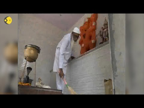 Electrician from Agra spreads message of religious harmony