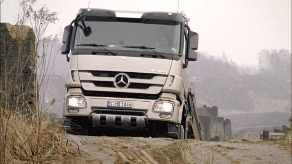 mercedes benz india actros heavy duty trucks youtube