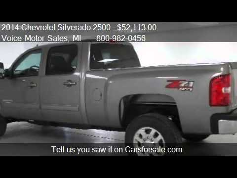 2014 chevrolet silverado 2500 ltz z 71 4x4 crew cab for Voice motors kalkaska michigan