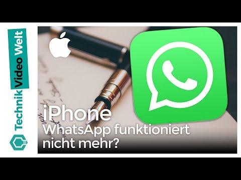 iPhone WhatsApp funktioniert