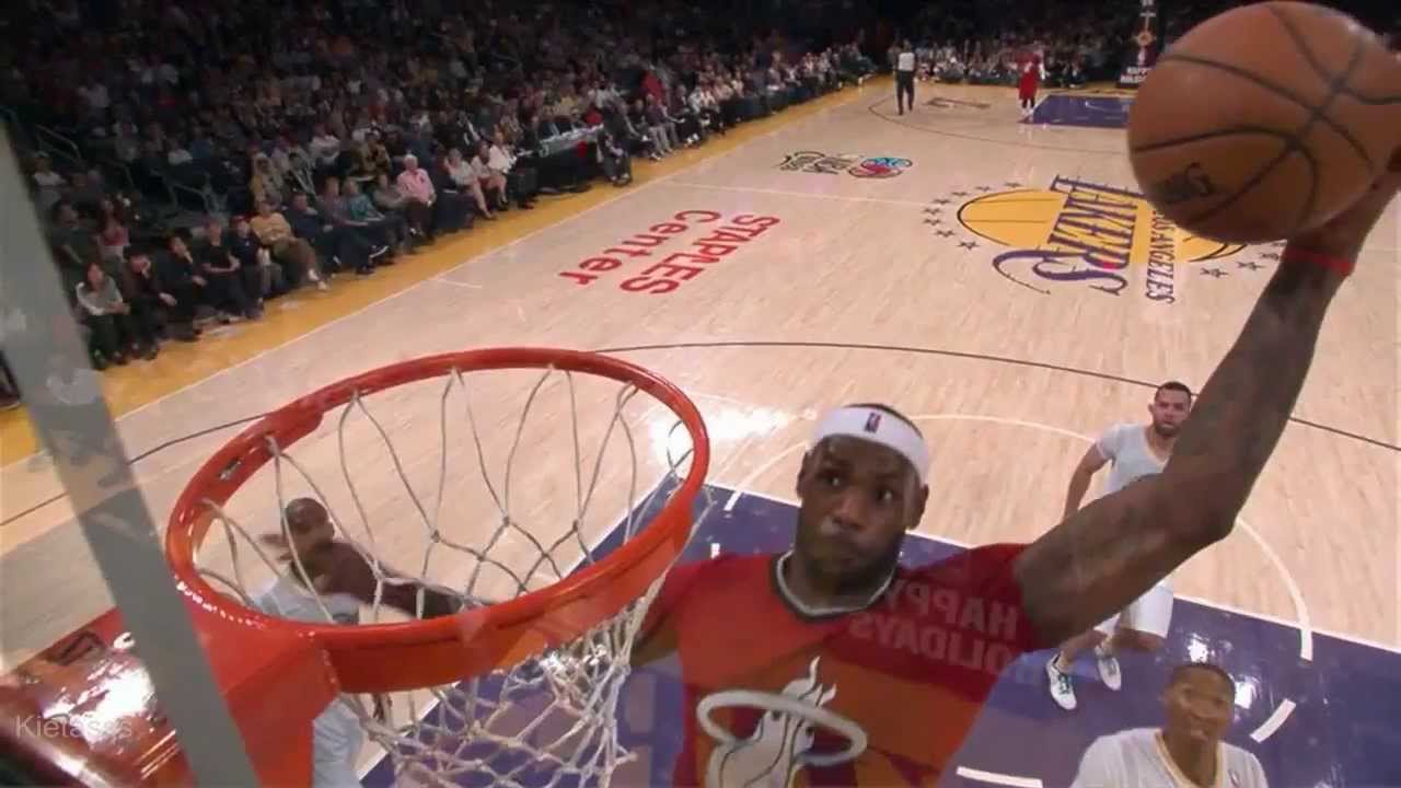LeBron James becomes No. 2 leading scorer on Christmas Day ...