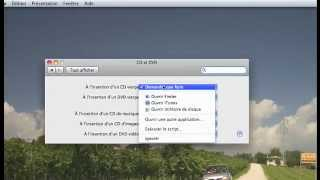 Graver un DVD via le Finder (MAC)