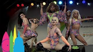RuPaul's Aquaria, Acid Betty, Alexis Michelle, Milk and Brita Filter Live | Pride in London 2017
