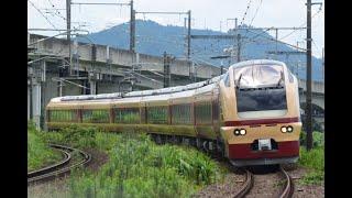 [総集編] 『E653系 K70編成 (国鉄色)・団体臨時列車 TDRドリーム号[9121M]』2019/7/28(JR東北本線・東福島駅~伊達駅「志和田踏切」)