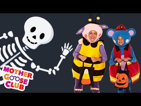 Thumbnail: Halloween - A Haunted House on Halloween Night - Mother Goose Club Halloween Songs for Children