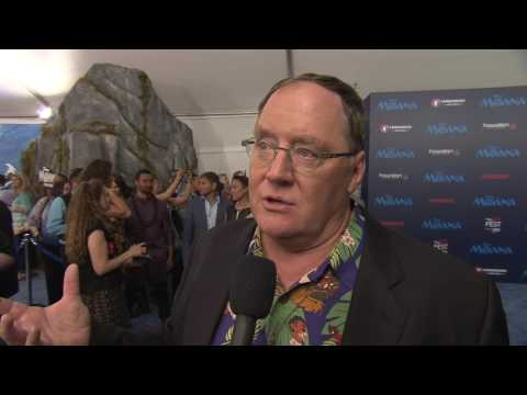 Moana: Exec Producer John Lasseter Red Carpet Movie Premiere Interview