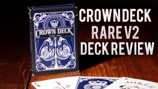 Deck Review - The Blue Crown Deck V2 Playing Cards