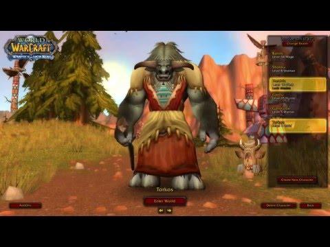 World of Warcraft- Lordaeron Private Server Leveling 1-80 Episode #1