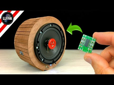 DIY How to make  BLUETOOTH SPEAKER With Mini Amplifier!