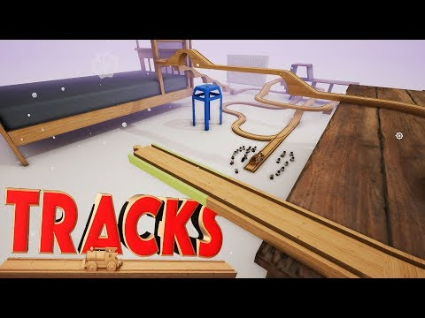 FUN BUILDING TOY MODEL TRAIN TRACKS! – Tracks The Train Set – (Kid Friendly Train Game!)