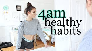 10 HEALTHY HABITS I START At 4AM In 2019 | WHY I WAKE UP EARLY PART 2