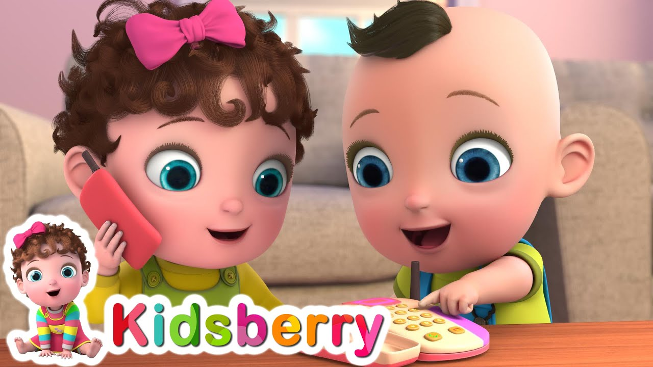 The Toy Phone Is Ringing | Toy Phone Song | Nursery Rhymes | Baby Songs
