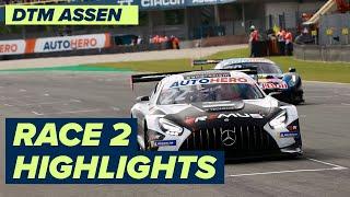 Auer-Power in Assen!   DTM Race 2   Highlights