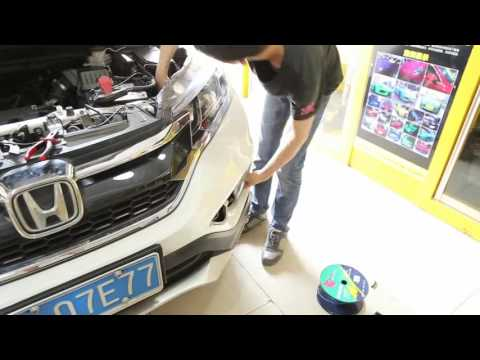 Installation video of Daytime Running Light  2015 2016 Crv