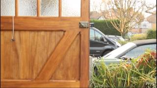 Wooden Timber Garage Doors And Gate Ironmongery
