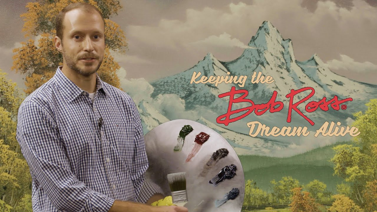 Keeping The Bob Ross Dream Alive: Autumn Mountains | Featuring Nic Hankins (Episode 2)