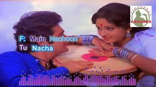 DAFLI WAALE hindi karaoke for feMale singers with lyrics