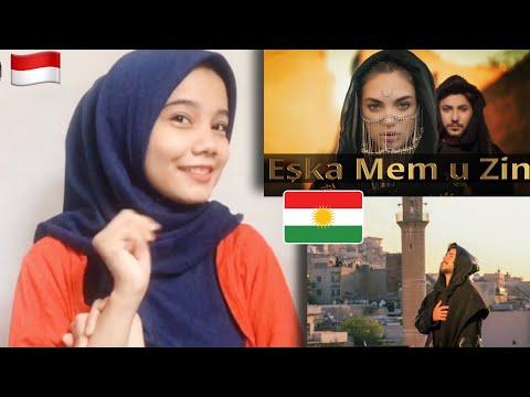 Indonesian Girl React to Baran Bari- Eşka Mem u Zin   Kurdish Music Reaction   Baran Bari Reaction indir