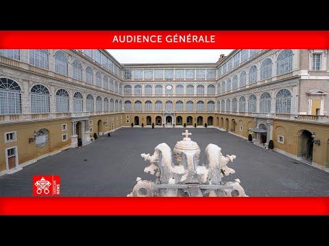 Audience générale 30 juin 2021 Pape François