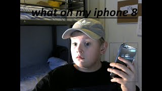 what on my iphone 8????