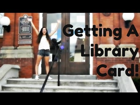 Getting a Library Card!